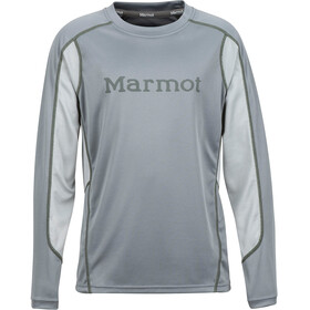 Marmot Windridge with Graphic - T-shirt manches longues Enfant - gris